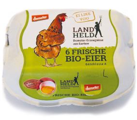 Landheld-Eier